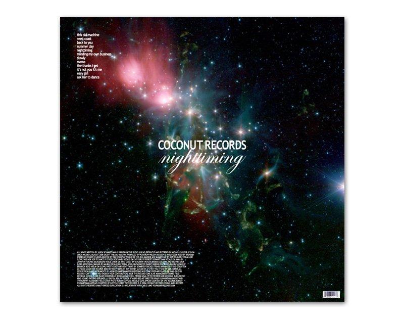 Frey Art Amp Design Coconut Records Nighttiming Lp