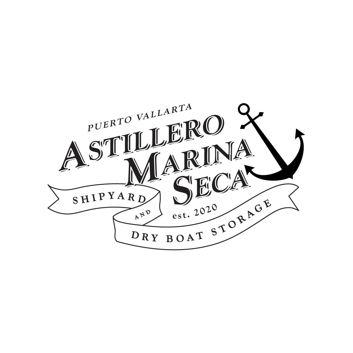 Astillero Marina Seca Logo Exploration