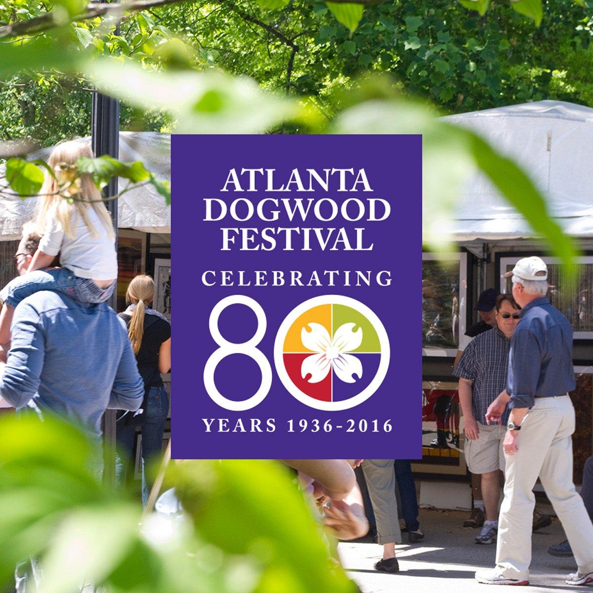 Atlanta Dogwood Festival - Logo Design