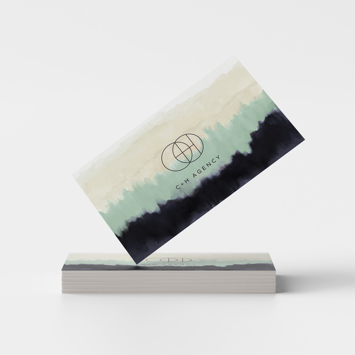 C + H Agency - Business Cards