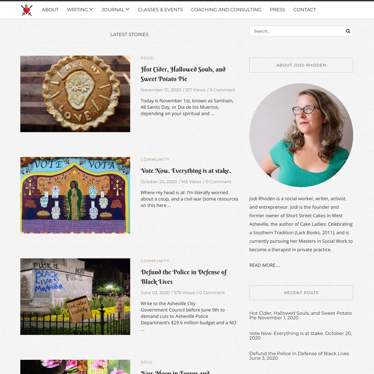 Jodi Rhoden Web Design