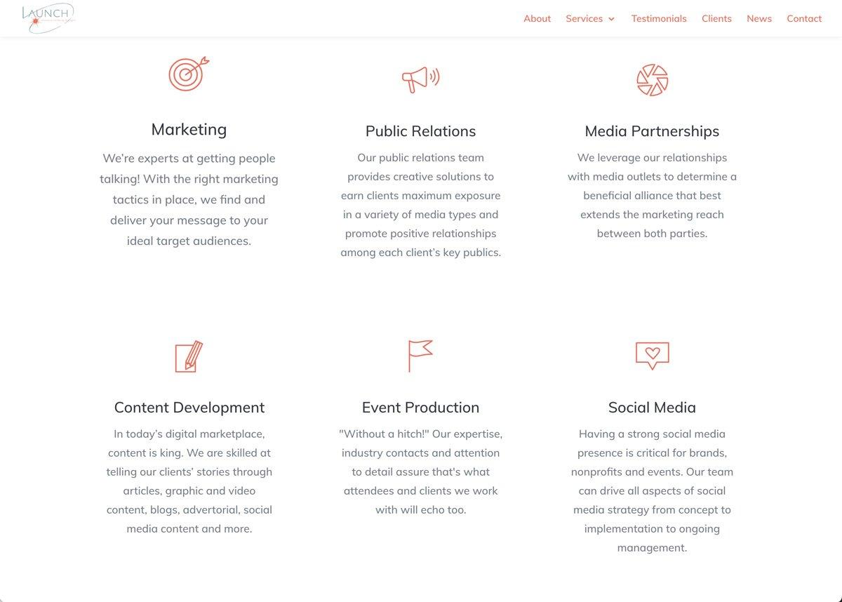 Launch Atlanta Web Site Design