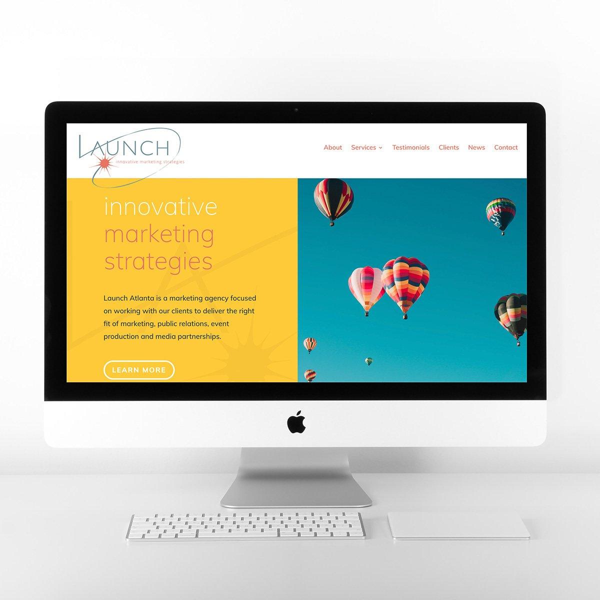 Launch Atlanta Web Site