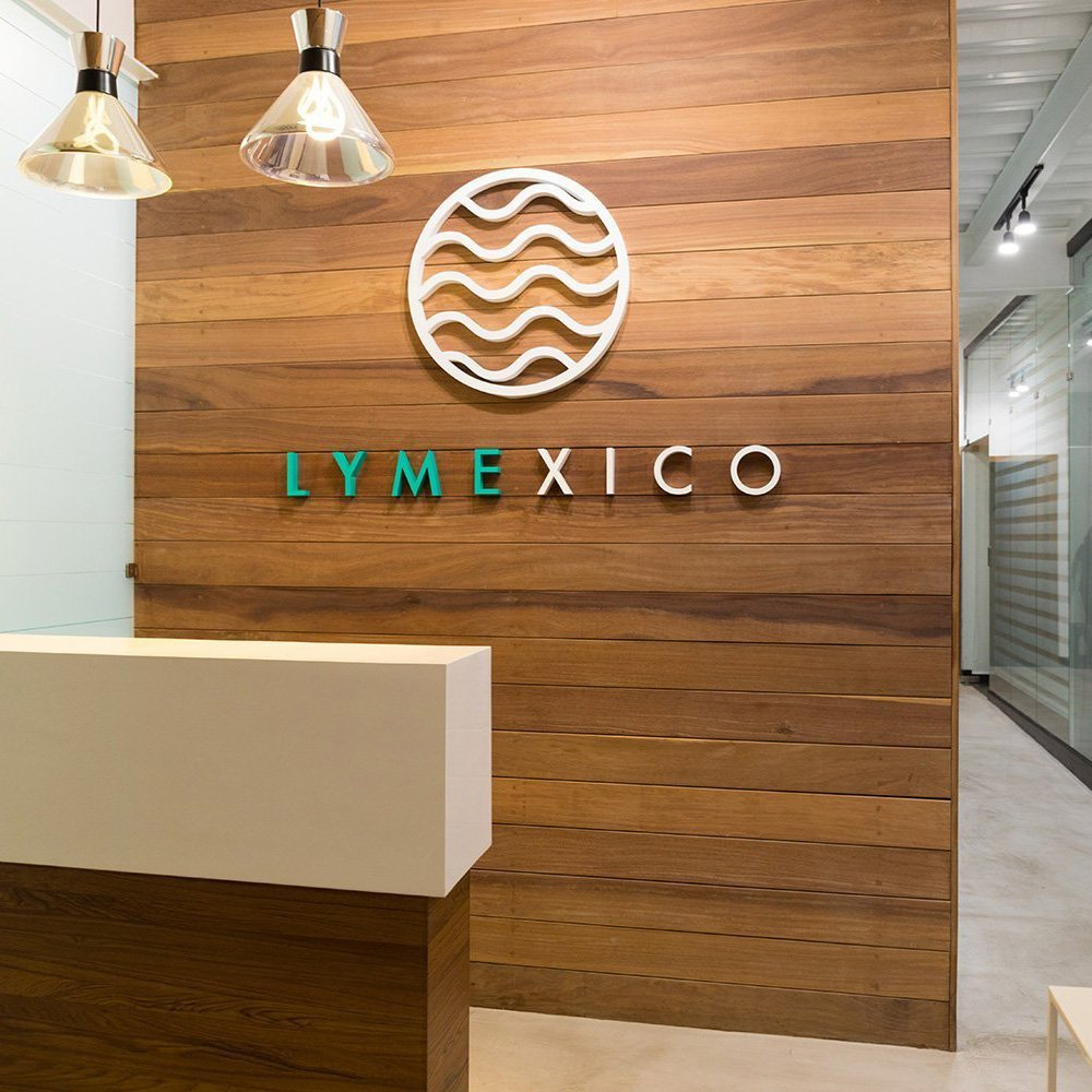 Lyme Mexico Clinic Reception