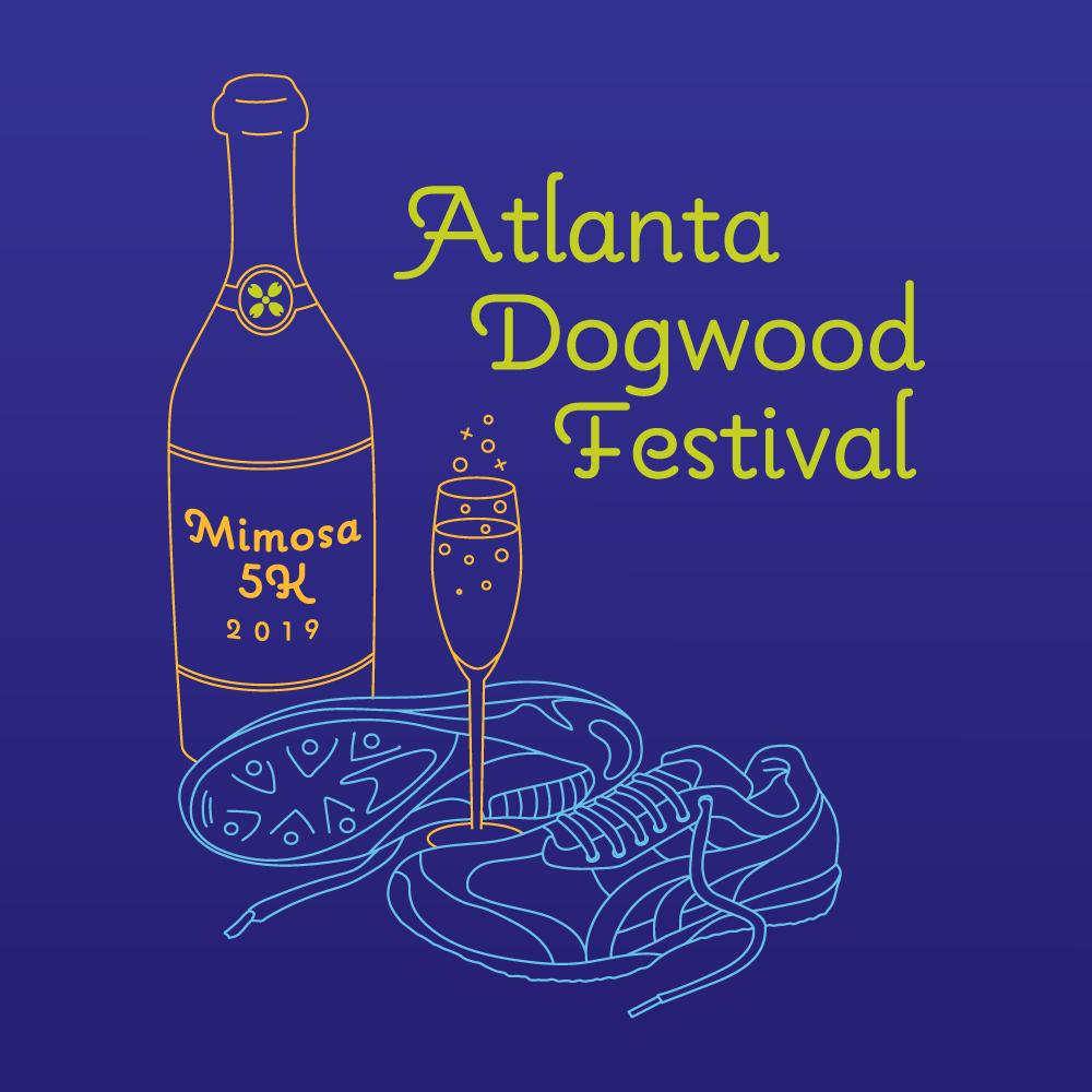 AtlantaDogwood Festival Illustration